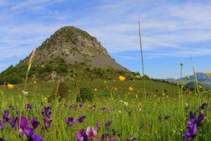 Ardèche_Le mont Gerbier de jonc