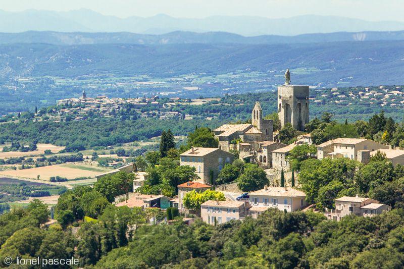 Drôme_Village perché